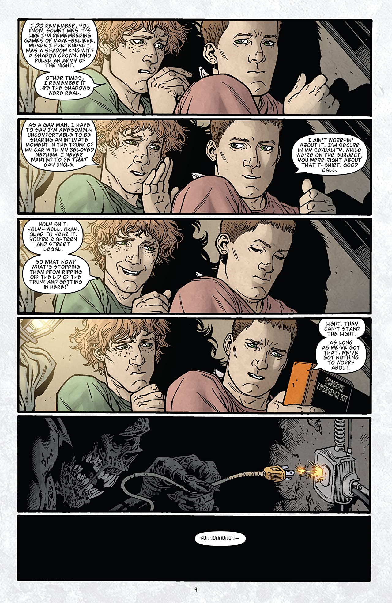 Locke & Key: Omega #4 (of 5)