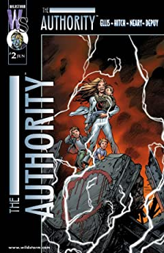 The Authority (1999-2002) #2