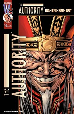 The Authority (1999-2002) #4