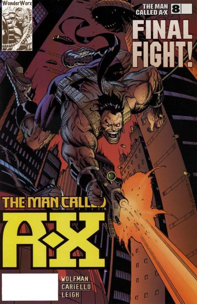 The Man Called A-X Vol. 2 #8