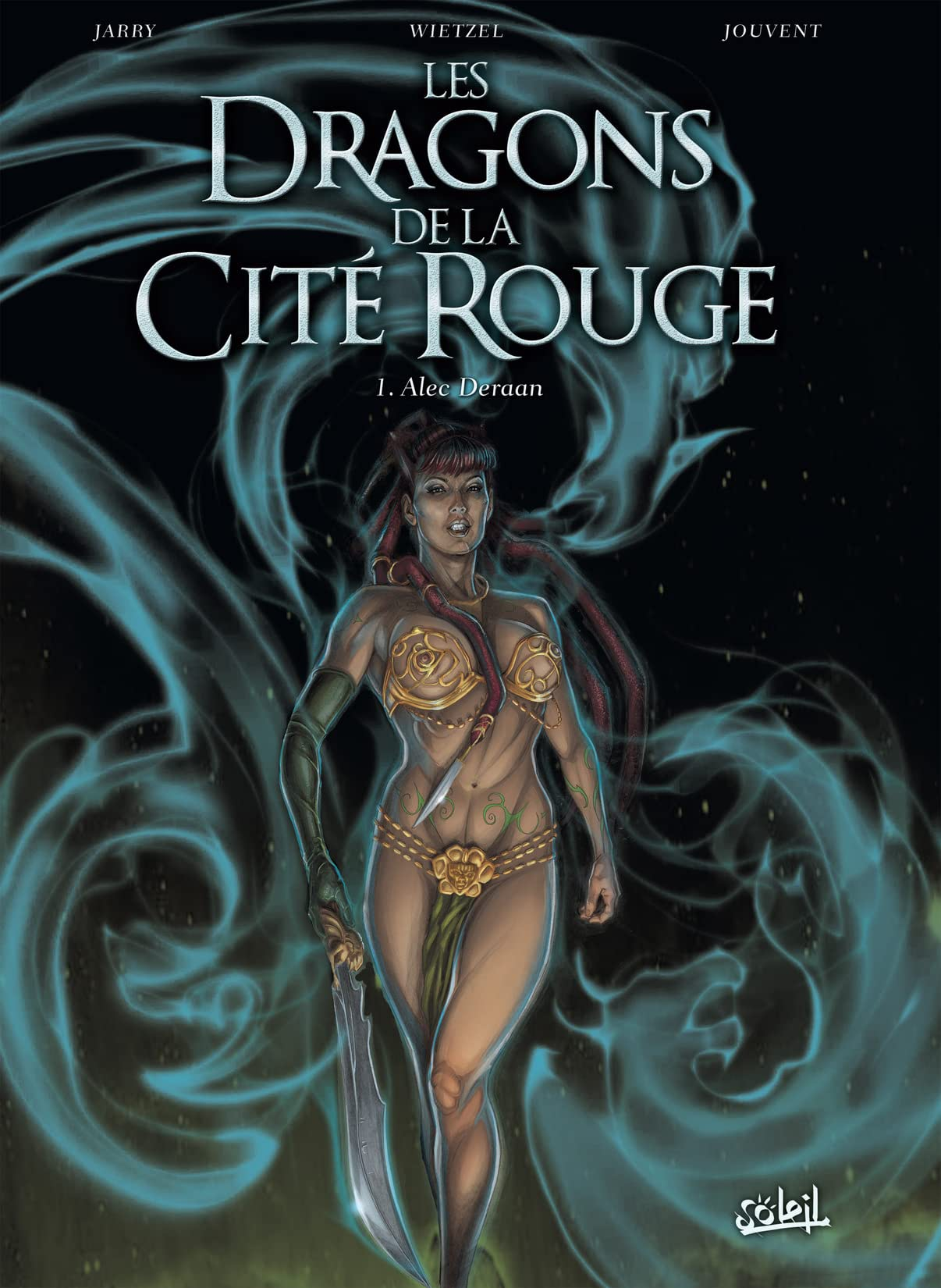 Dragons de la cité rouge Vol. 1: Alec Deraan