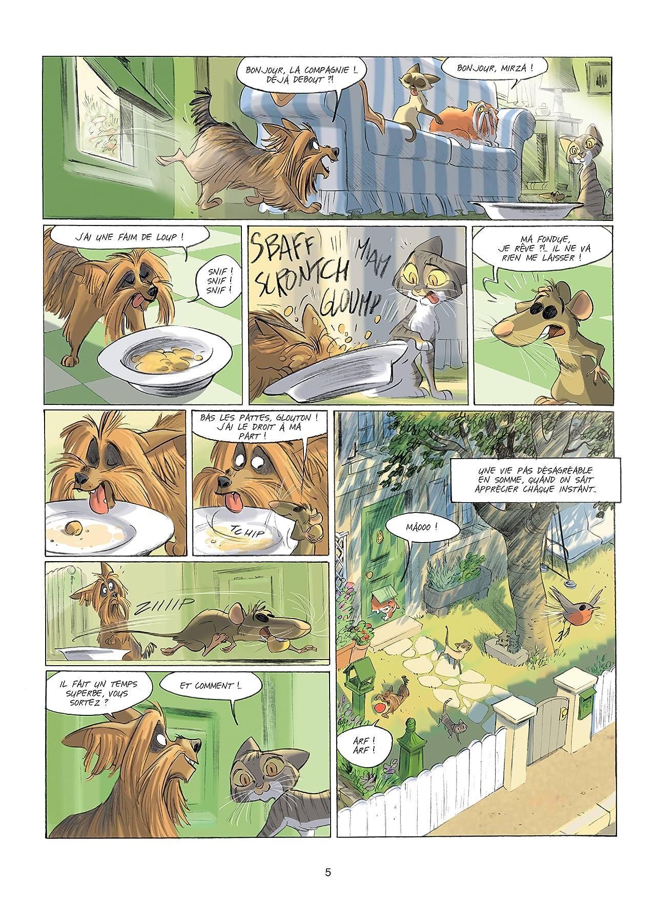 Léonid, les aventures d'un chat Vol. 2: La Horde