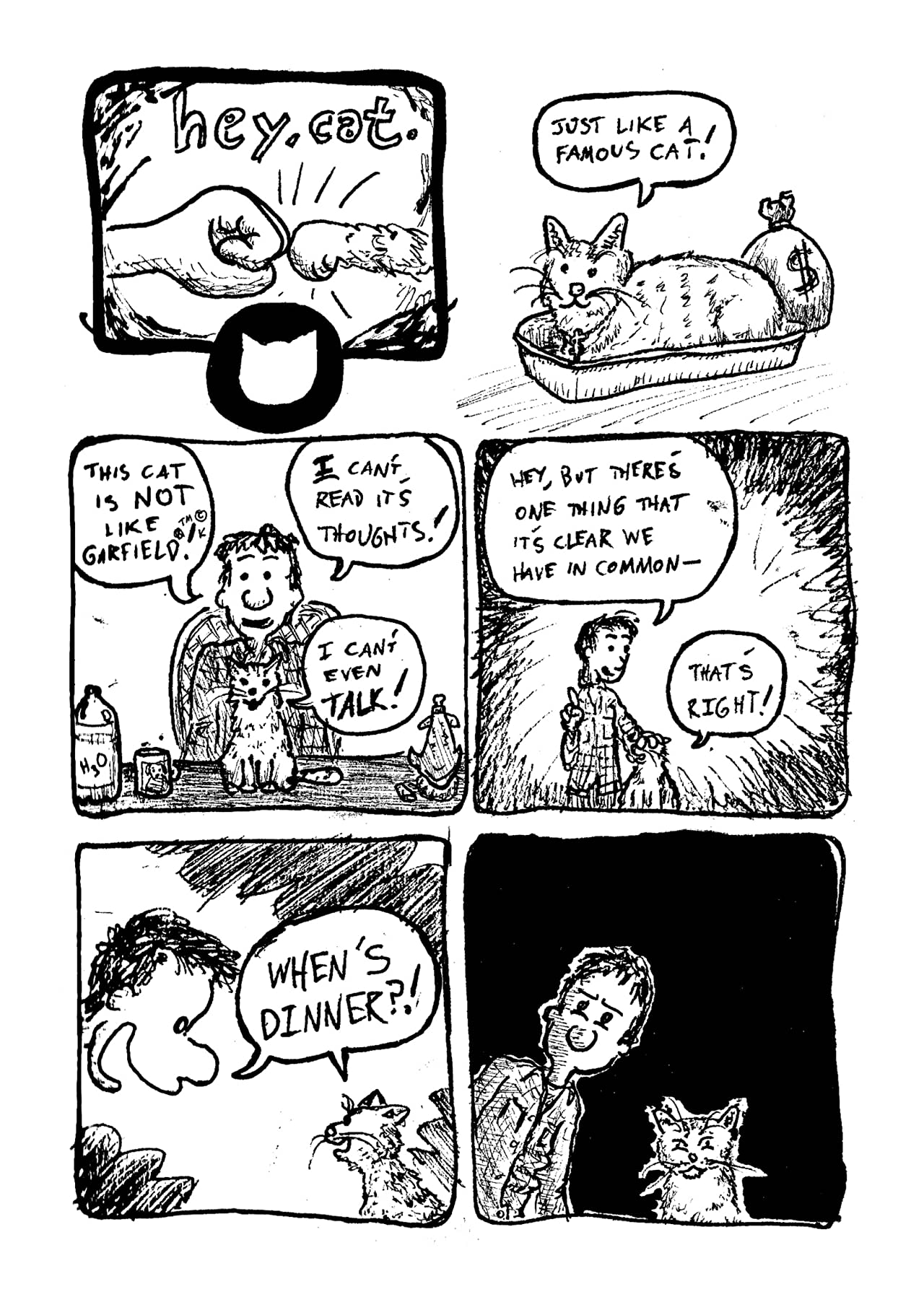 Hey, Cat. Vol. 1: Be Here Meow