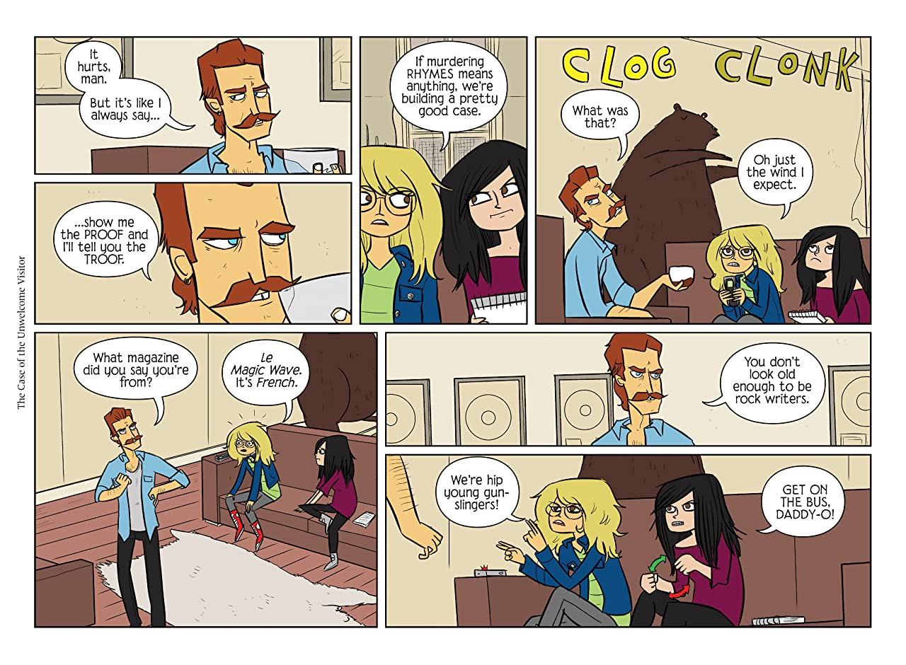 Bad Machinery Tome 6: The Case of the Unwelcome Visitor
