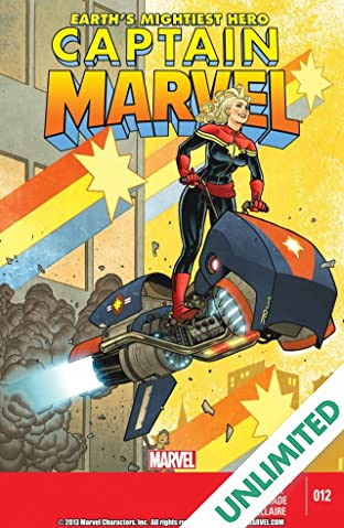 Captain Marvel (2012-2013) #12