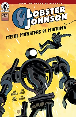 Lobster Johnson: Metal Monsters of Midtown No.3