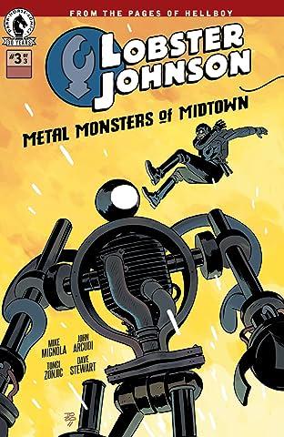 Lobster Johnson: Metal Monsters of Midtown #3