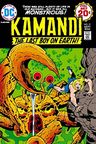 Kamandi: The Last Boy on Earth (1971-1978) #21