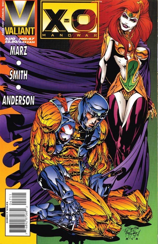 X-O Manowar (1992-1996) #47