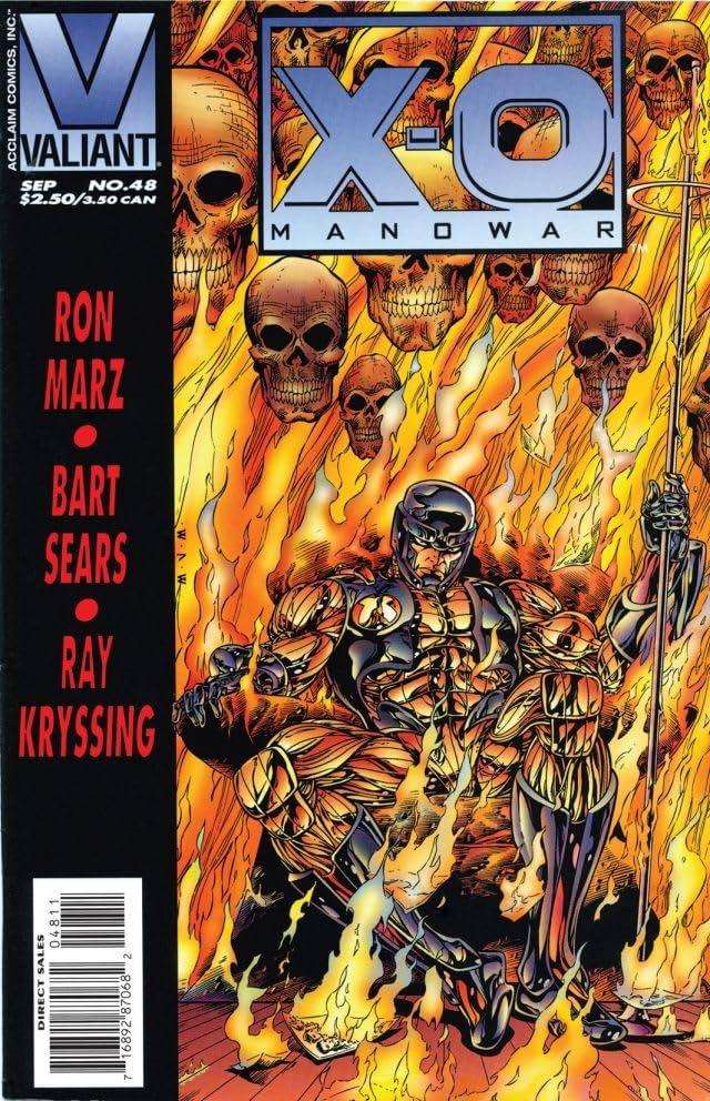X-O Manowar (1992-1996) #48