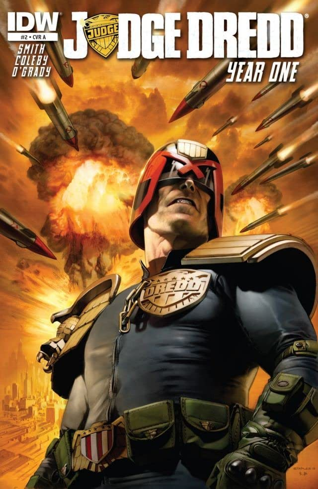 Judge Dredd: Year One #2