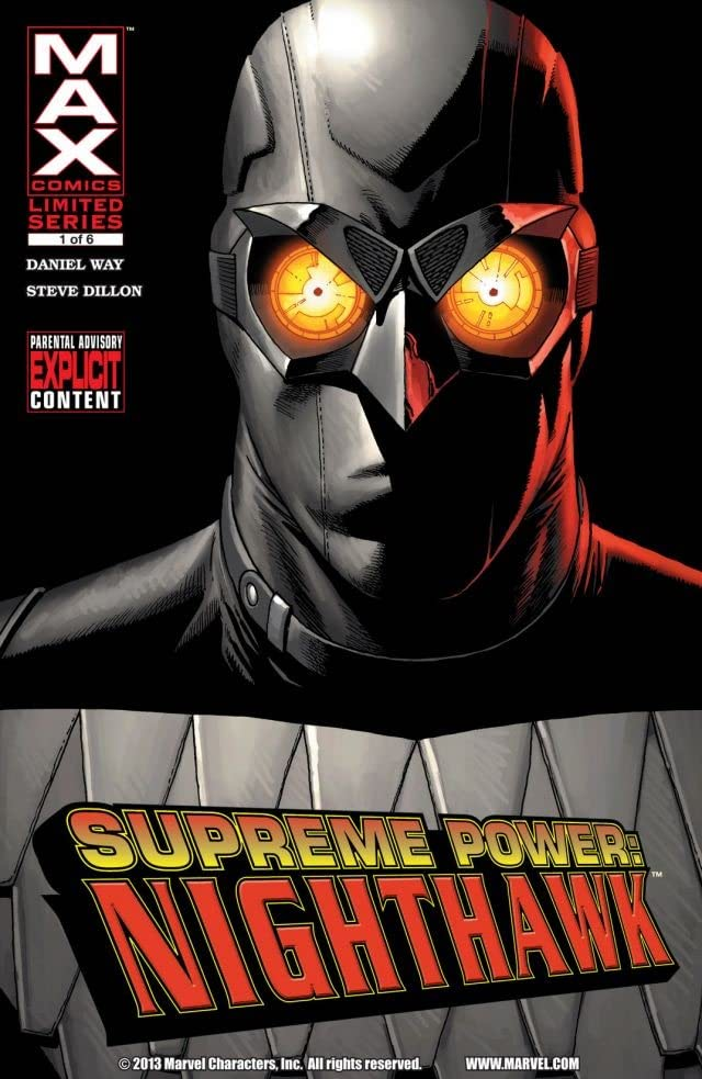 Supreme Power: Nighthawk #1 (of 6)