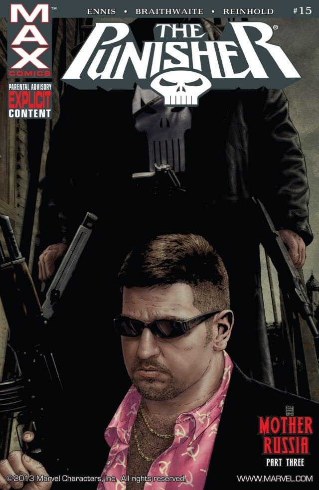 The Punisher (2004-2008) #15