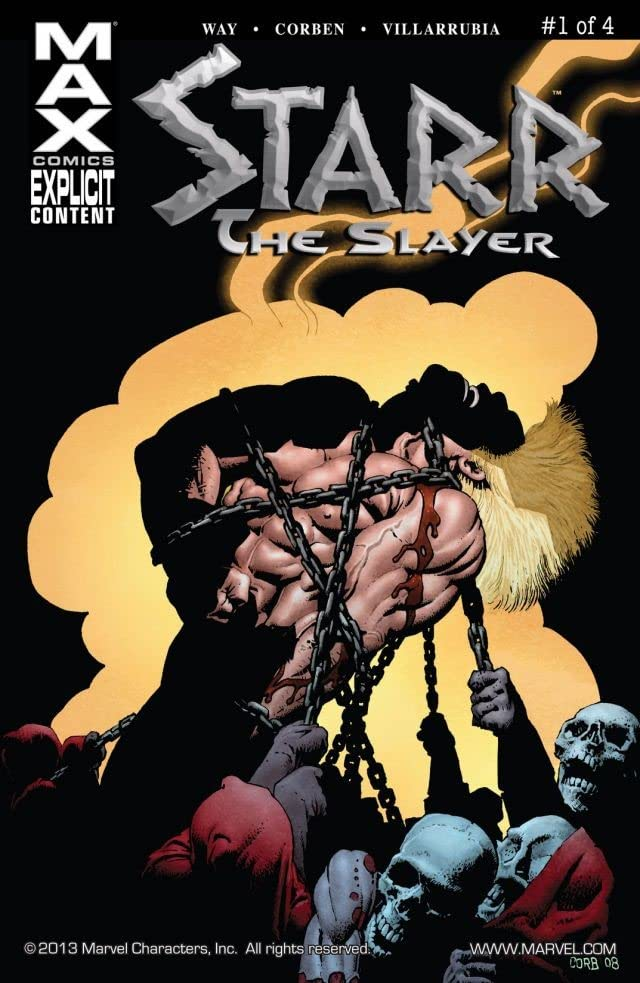 Starr the Slayer #1 (of 4)