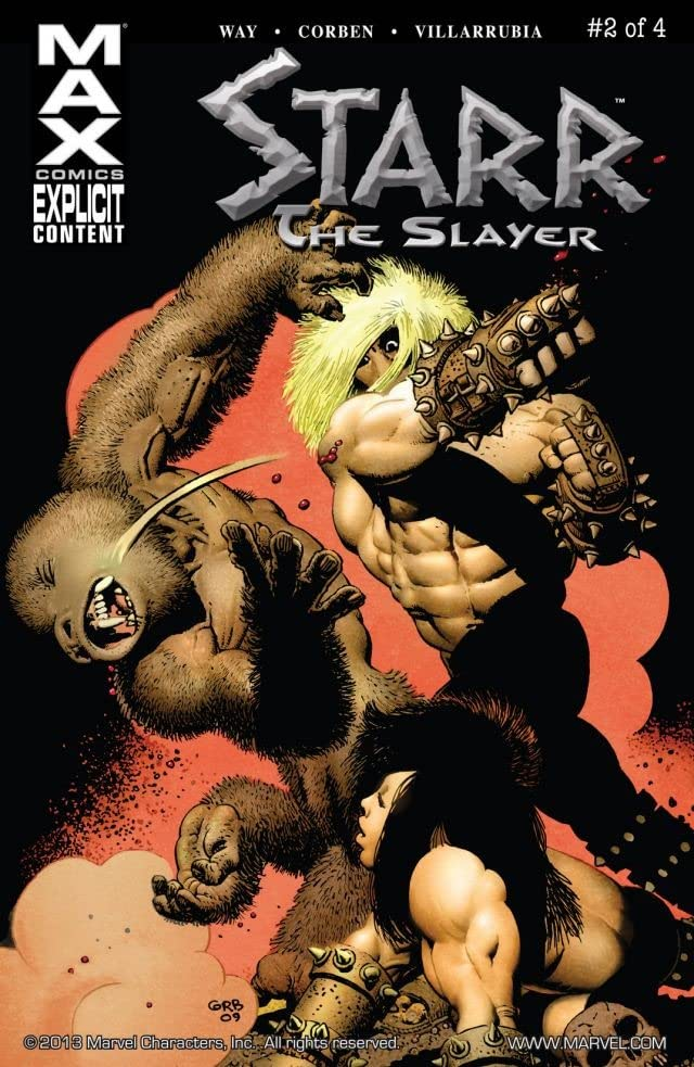 Starr the Slayer #2 (of 4)