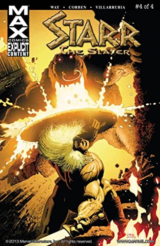 Starr the Slayer #4 (of 4)