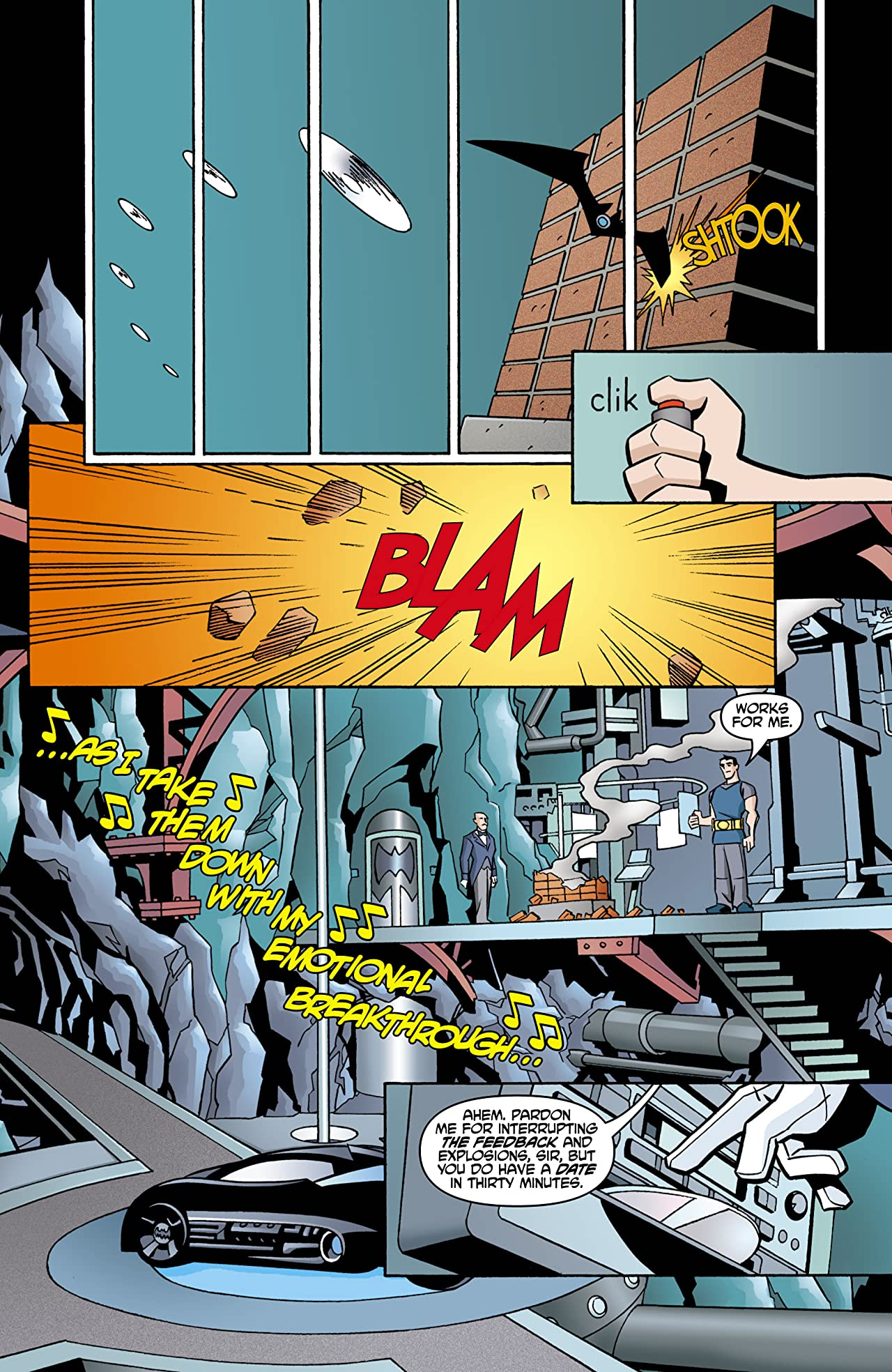 The Batman Strikes! #4