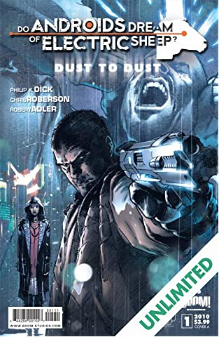 Do Androids Dream of Electric Sheep?: Dust To Dust #1 (of 8)