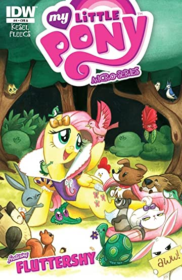 my little pony micro series fluttershy 4 comics by comixology