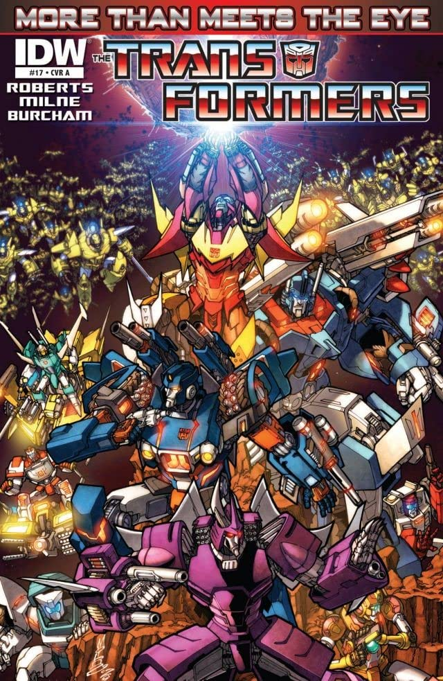 Transformers: More Than Meets the Eye (2011-) #17