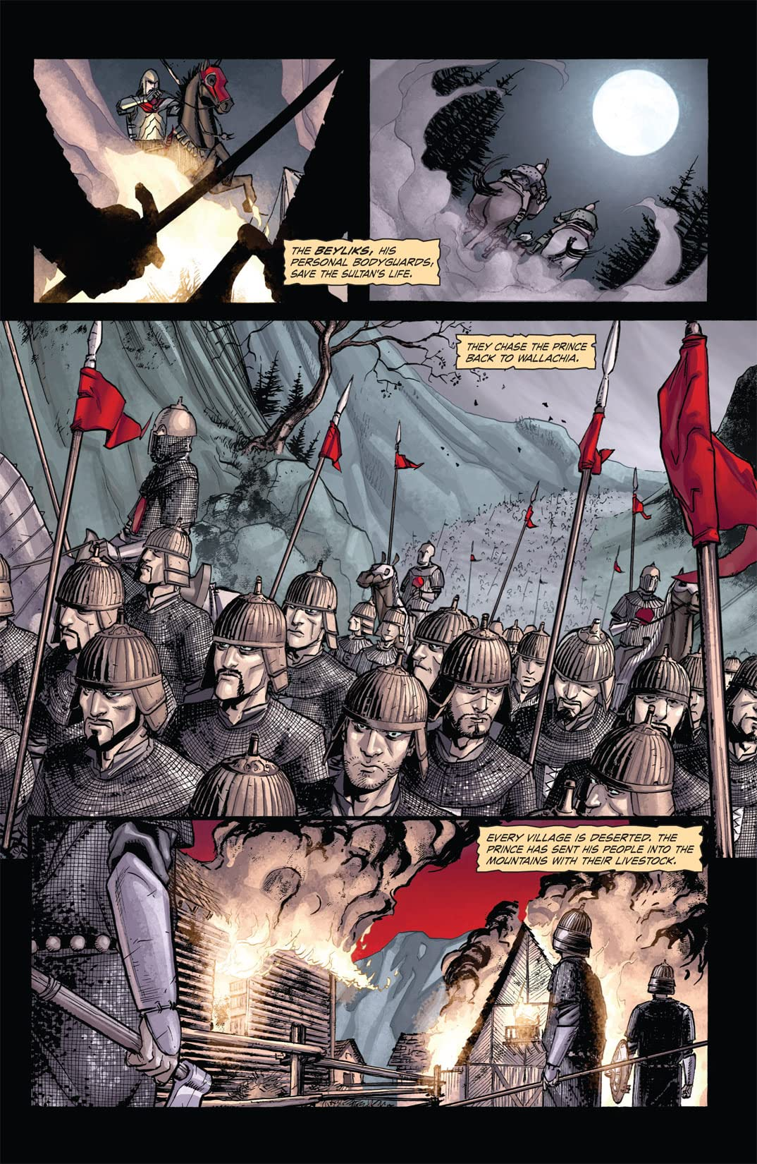 Dracula: The Company of Monsters #1