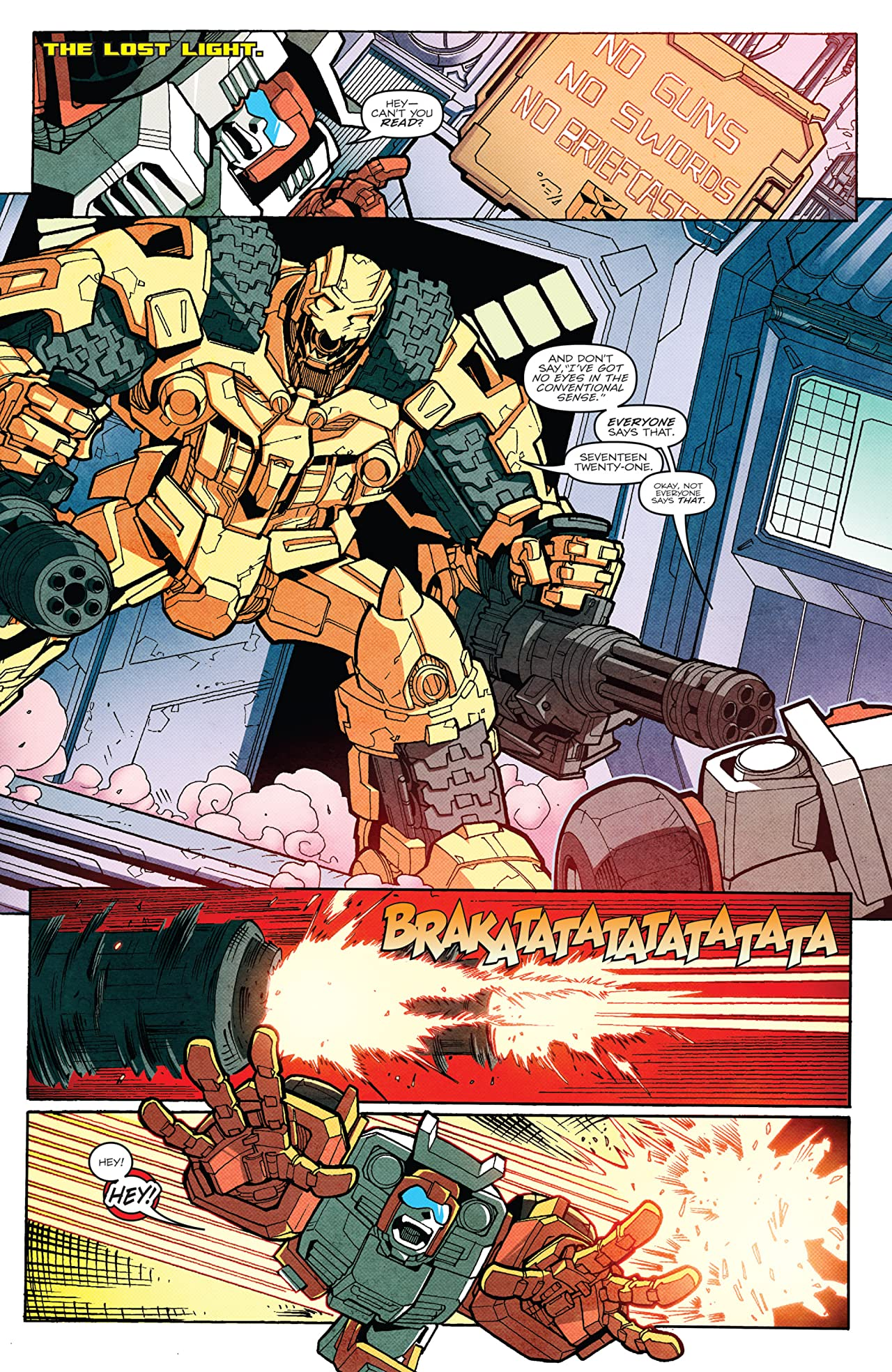 Transformers: More Than Meets the Eye (2011-) #18