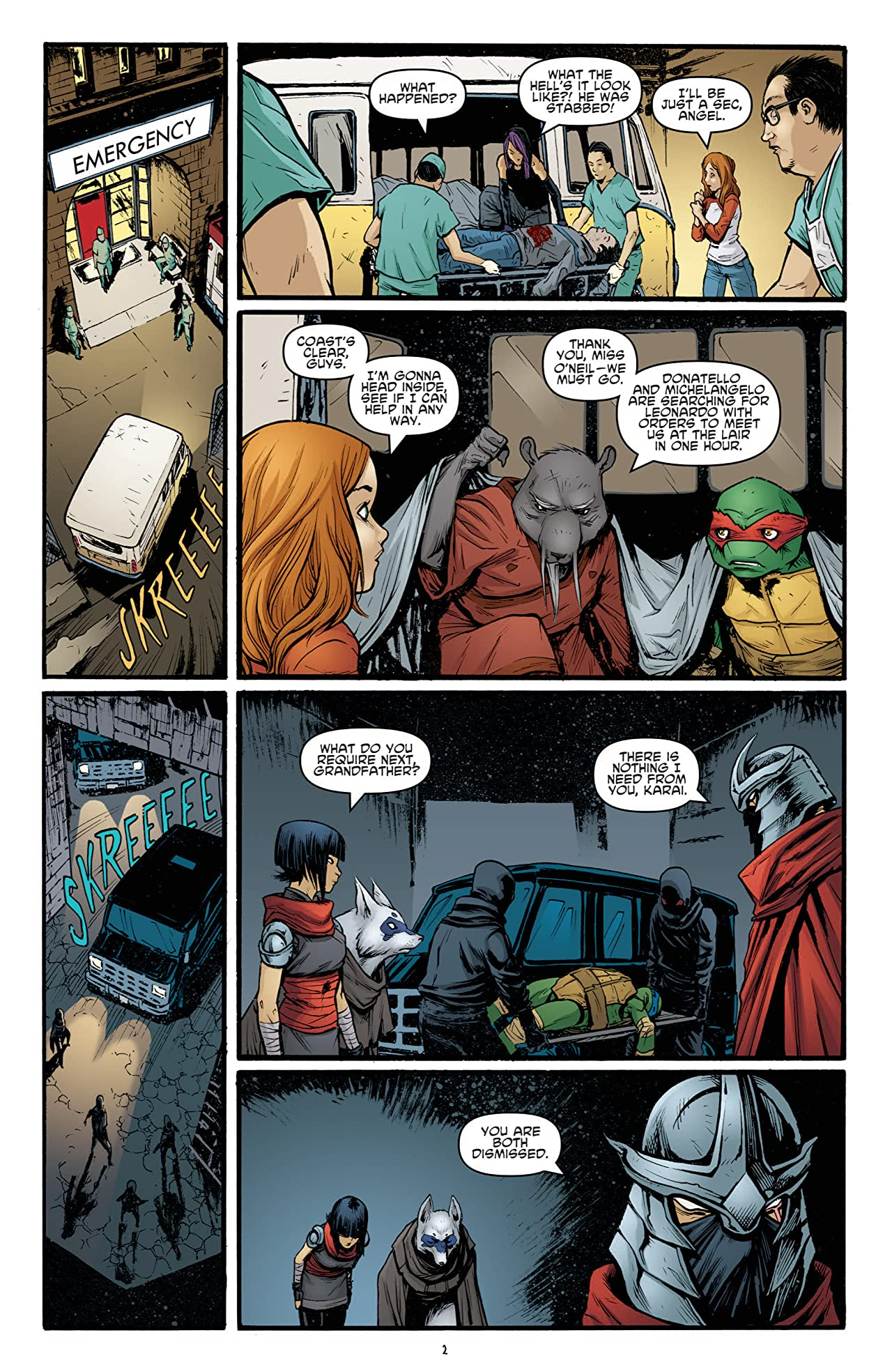 Teenage Mutant Ninja Turtles #23