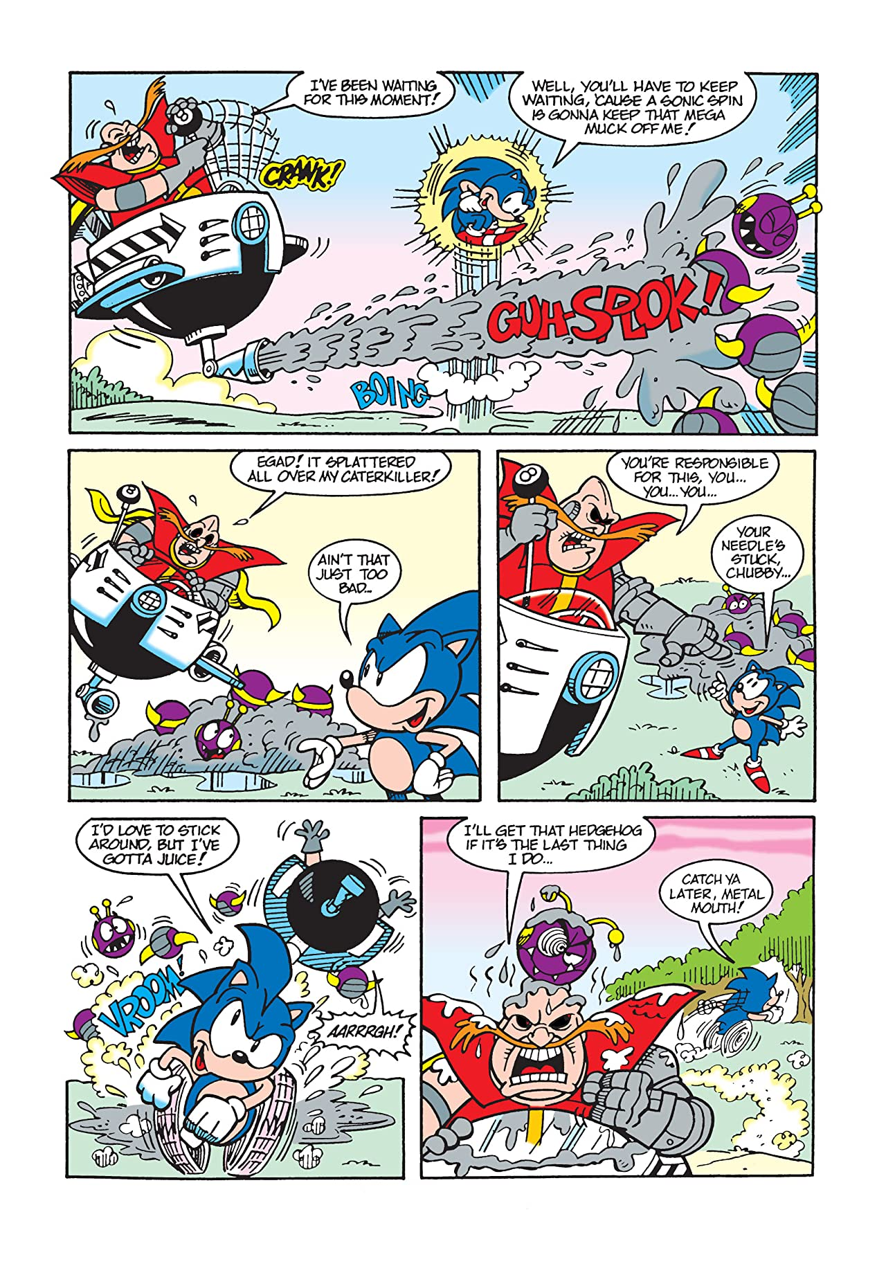 Sonic the Hedgehog Mini Series #0