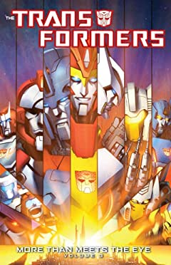 Transformers: More Than Meets the Eye (2011-2016) Tome 3