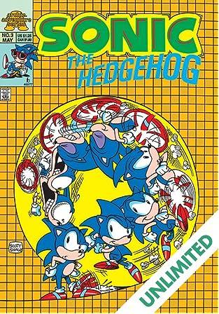 Sonic the Hedgehog Mini Series #3