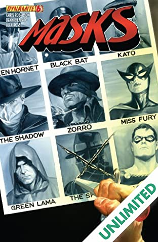 Masks #6: Digital Exclusive Edition