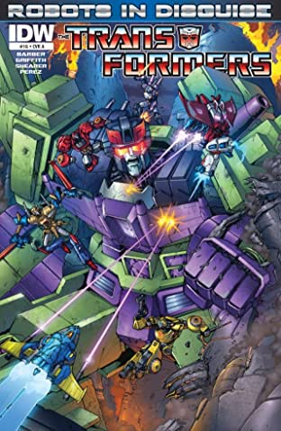 Transformers: Robots In Disguise (2011-2016) No.16