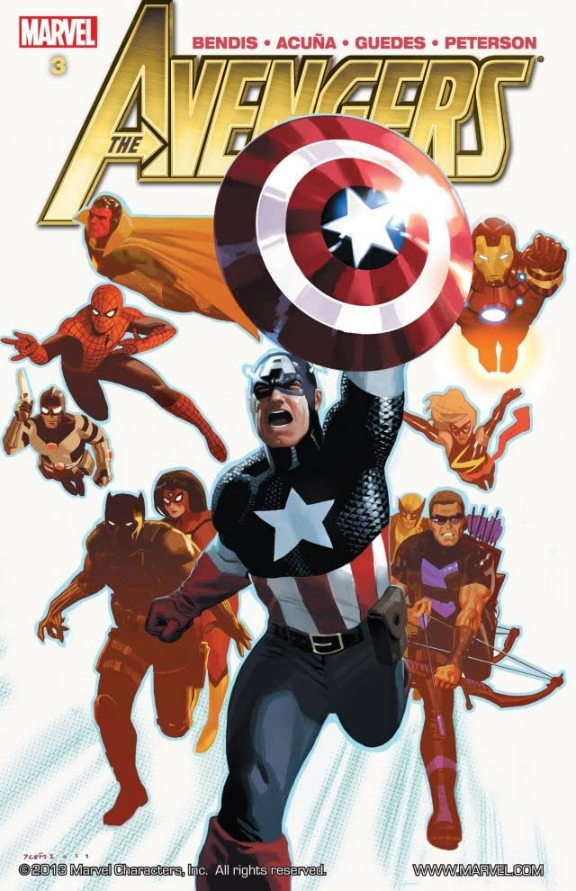 Avengers By Brian Michael Bendis Vol. 3