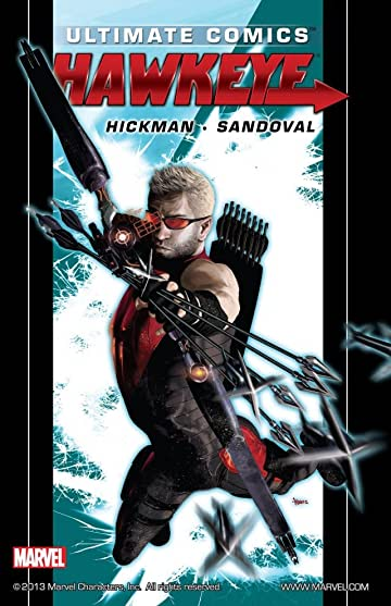 Ultimate Comics Hawkeye by Jonathan Hickman