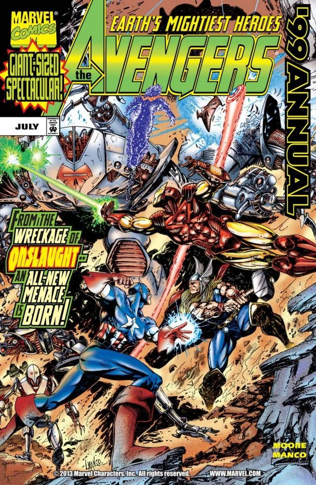Avengers Annual 1999