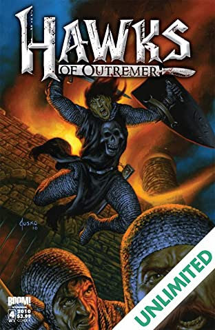Robert E. Howard's Hawks of Outremer #4 (of 4)
