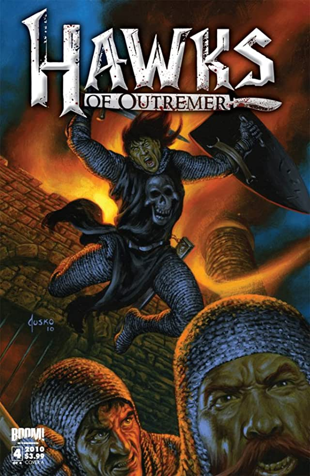 Robert E. Howard's Hawks of Outremer #4