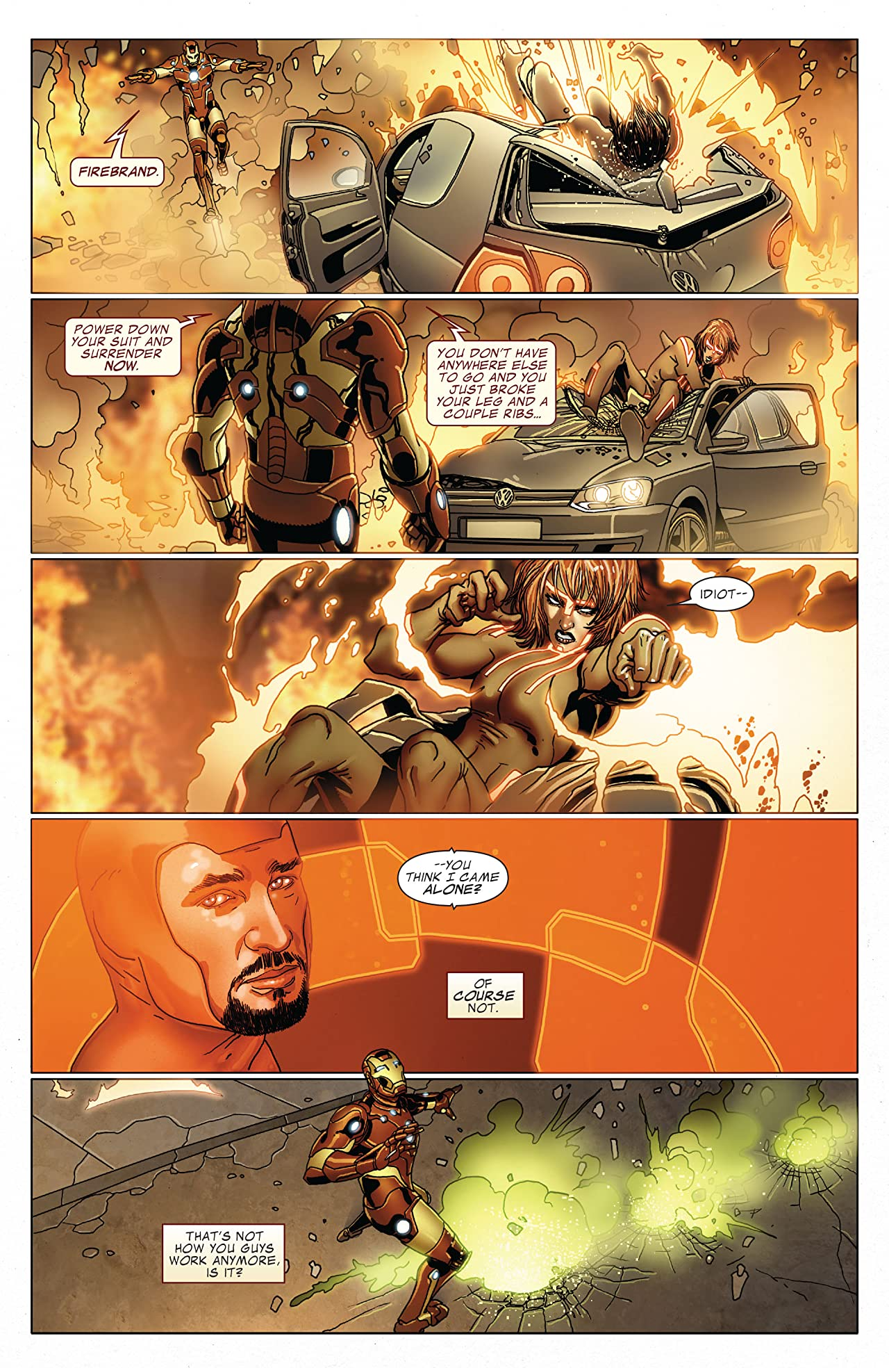 Invincible Iron Man Vol. 10: Long Way Down
