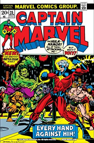 Captain Marvel (1968-1979) No.25