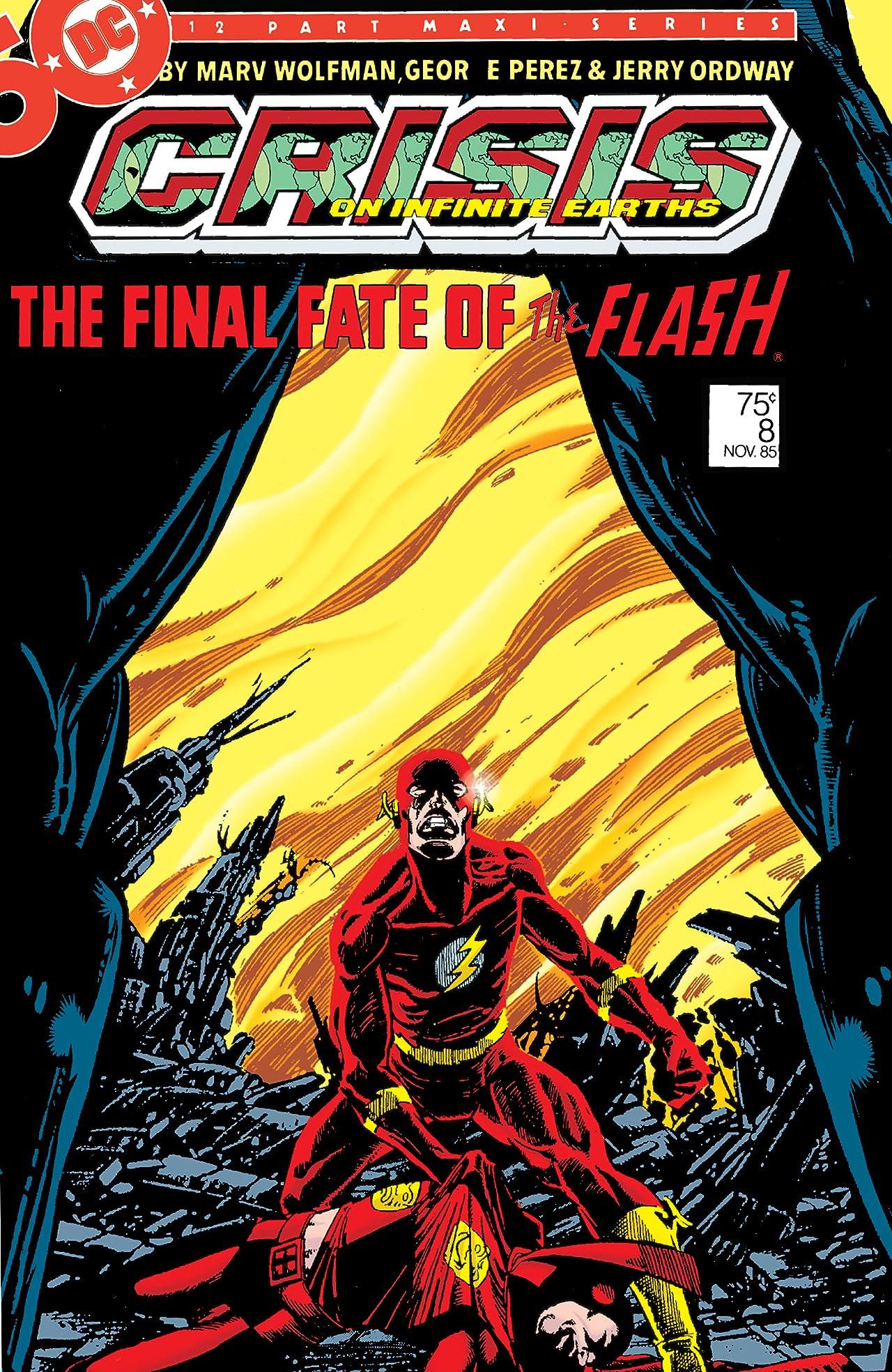 Crisis on Infinite Earths #8