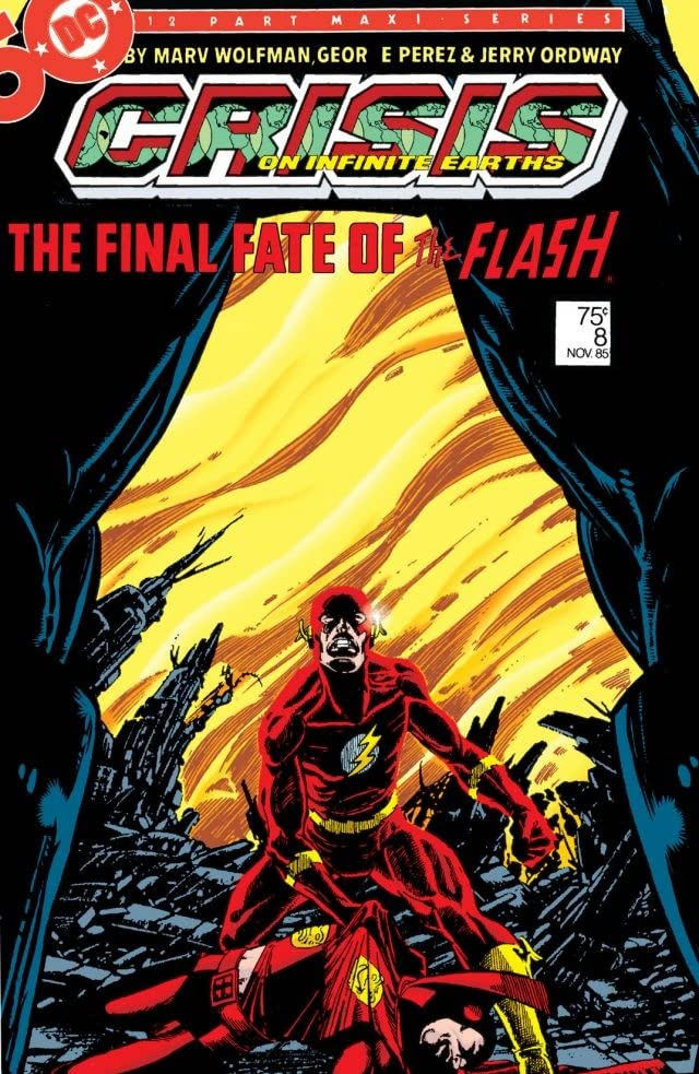 Crisis on Infinite Earths #8