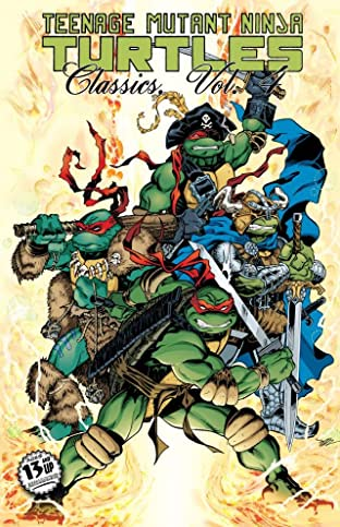Teenage Mutant Ninja Turtles: Classics Tome 4