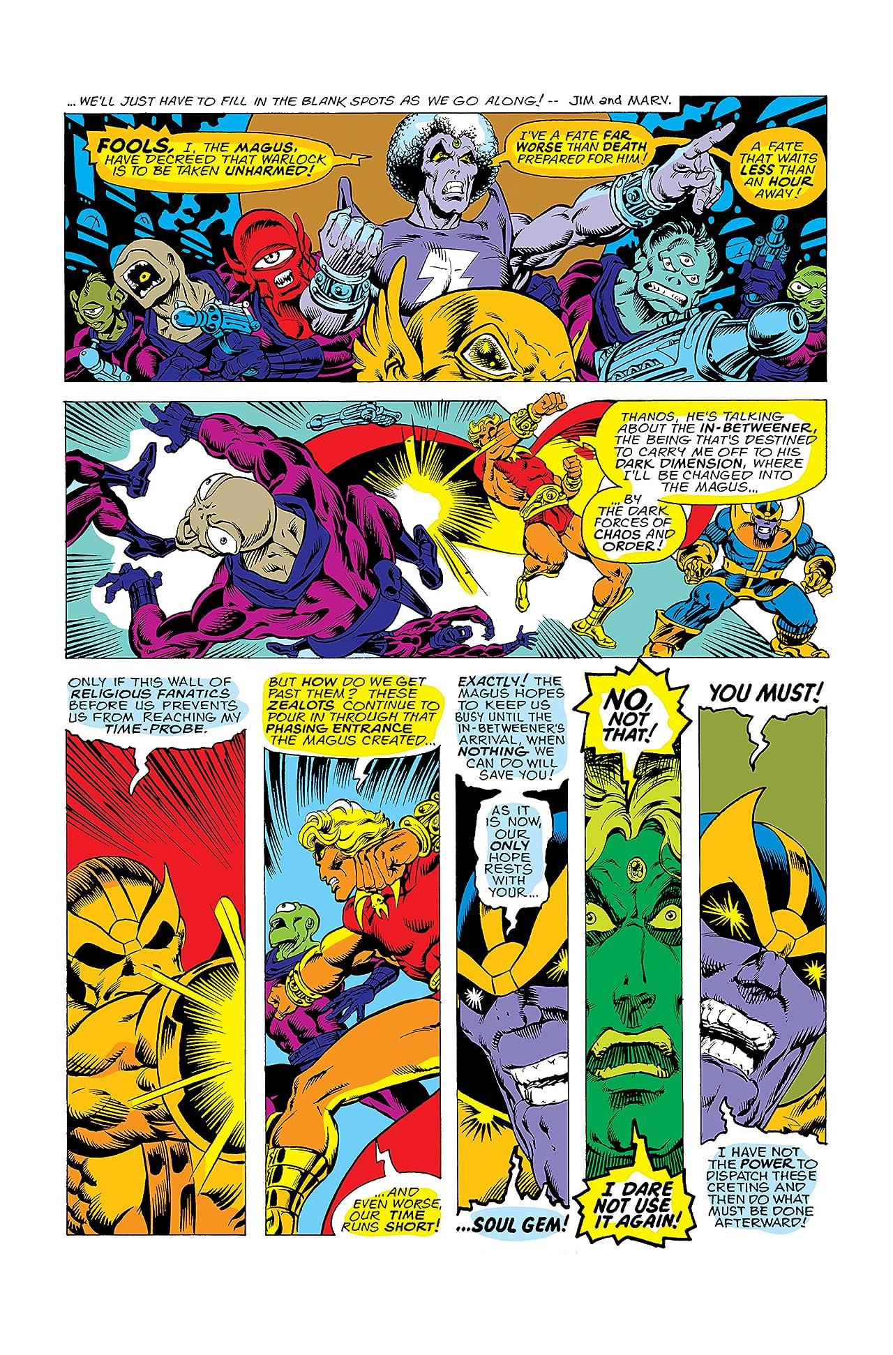Warlock (1972-1976) #11