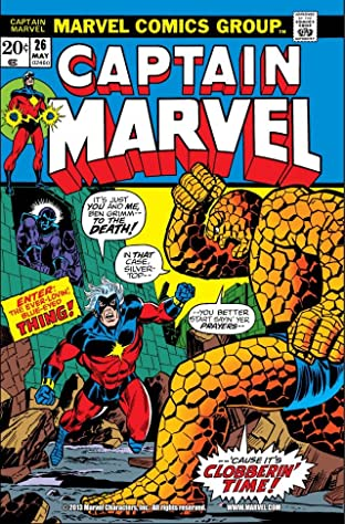 Captain Marvel (1968-1979) No.26