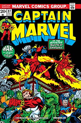 Captain Marvel (1968-1979) #27