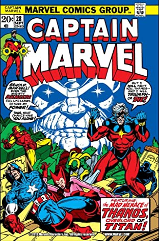 Captain Marvel (1968-1979) #28