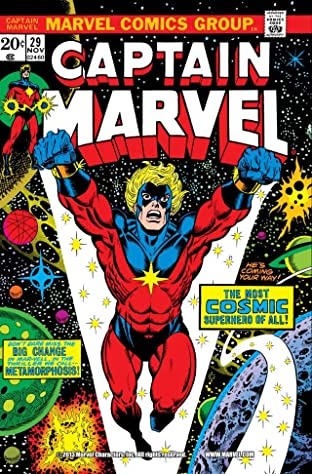 Captain Marvel (1968-1979) No.29
