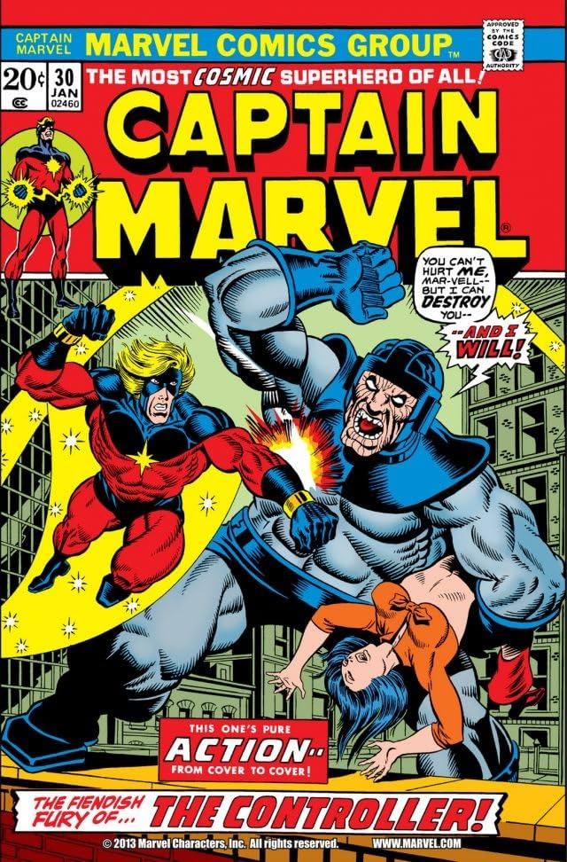 Captain Marvel (1968-1979) #30