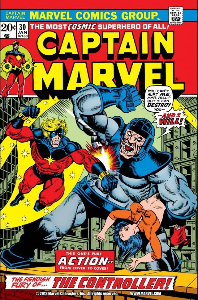 Captain Marvel (1968-1979) #30