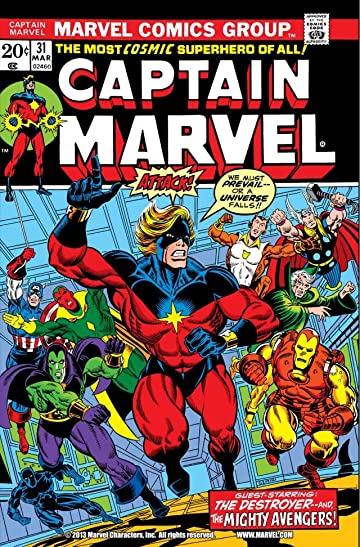 Captain Marvel (1968-1979) #31